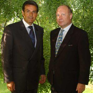 Giammario Sbranchella, Vice Presidente ICCI, con Domenico Serra, Presidente ICCI